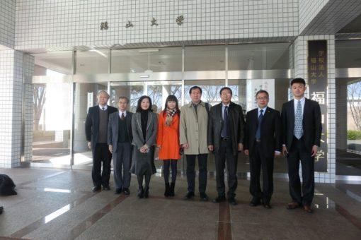中国・対外経済貿易大学のご一行、本学を訪問!