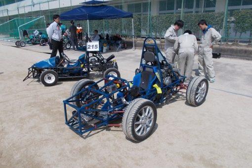 【機械システム工学科】学生フォーミュラカー、ゼロハンカーの走行会を行いました!
