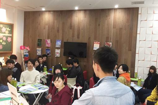 経済学科の学生が主催する福山市活性化イベントの報告