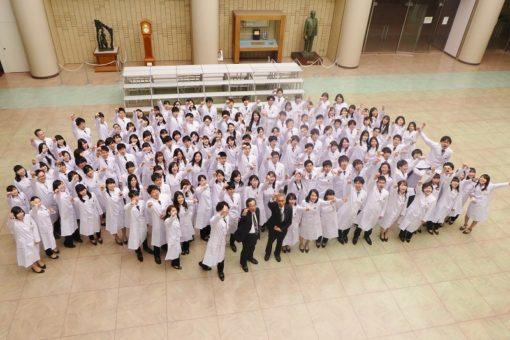 平成30年度 福山大学薬学部白衣授与式を開催!
