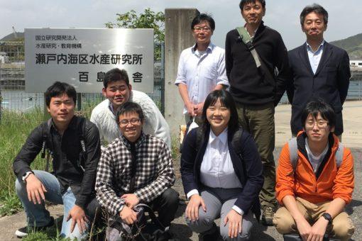 【海洋生物科学科】瀬戸内水研との百島合同セミナー開催