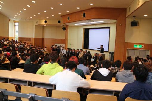 【経済学部】学生が企画・運営するオリエンテーション
