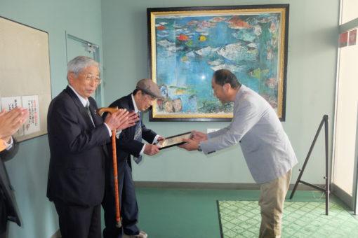 内海生物資源研究所へ絵画が寄贈!