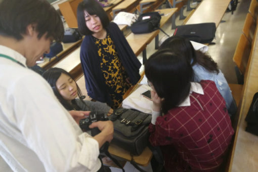 【メディア・映像学科】制作授業「メディア実践」開始!