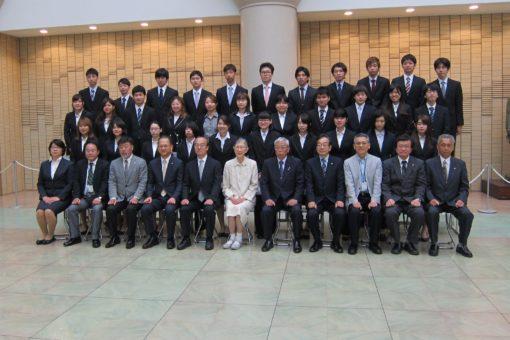 春の福山大学 学生表彰式!