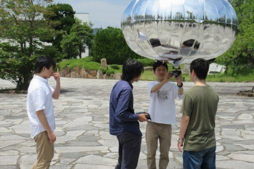【機械システム工学科】気球で福山大学を空撮!