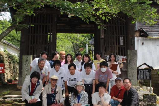 【人間文化学科】井伏鱒二「鞆ノ津茶会記」の史跡をたずねて