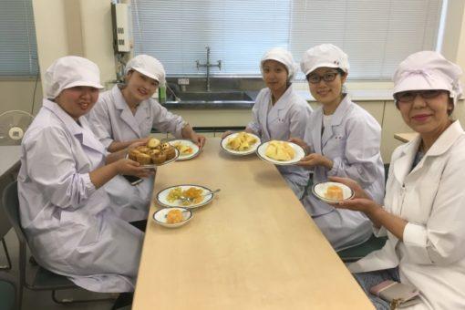 【生命栄養科学科】地元の食材を使用したスイーツ作り、試作第一弾!