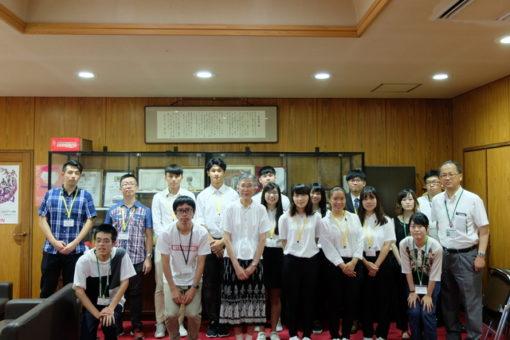 【#人間文化学部】淡江大学・日本文化研修が無事に終了