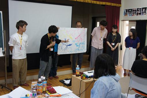 【大学教育センター】自主ゼミF4「発信力向上合宿」に参加!