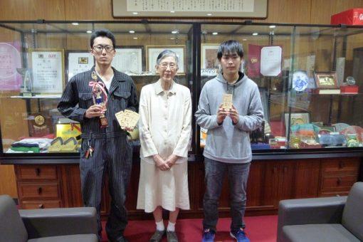 【学友会】二輪部 好成績!学長室訪問!