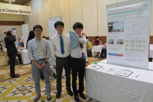 【工学研究科】院生、国際会議で研究デモ発表!