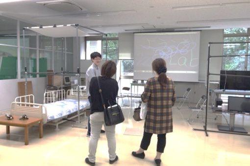 【情報工学科】三蔵祭「きて・みて・さわってIT体験」を実施!