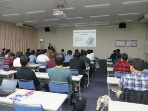 ツネイシホールディングス 情報戦略部部長 和田様のご講演