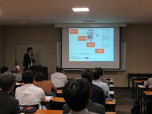 猪原歯科・リハビリテーション科の医療情報技師である前田様のご講演