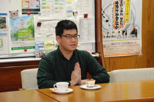 【学長室】今年も学生との懇談会(第3回)