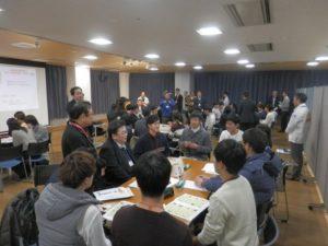 学生と企業のテーブルトーク