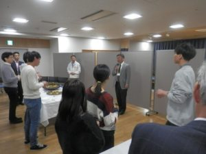 福山大学工学部長の乾杯の挨拶