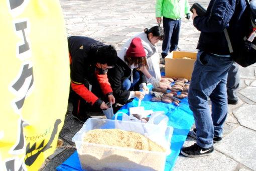 【プロジェクトM】地元で収穫した安納芋の即売会!