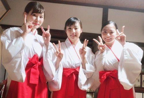 薬学生が、第31代ミス三蔵稲荷に選ばれました!