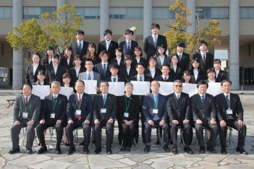 【学生表彰】学生表彰授与式!