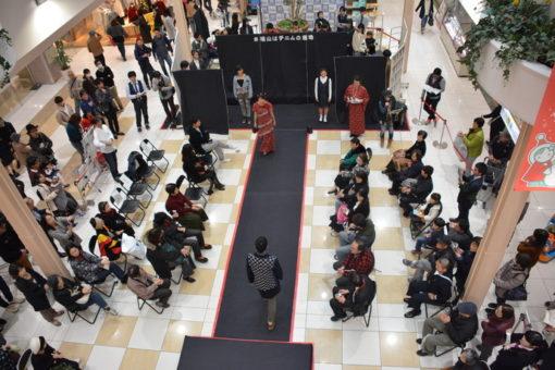 【メディア・映像学科】学科生がモデル出演!「高校生発 FUJI GRANDファッションショー」