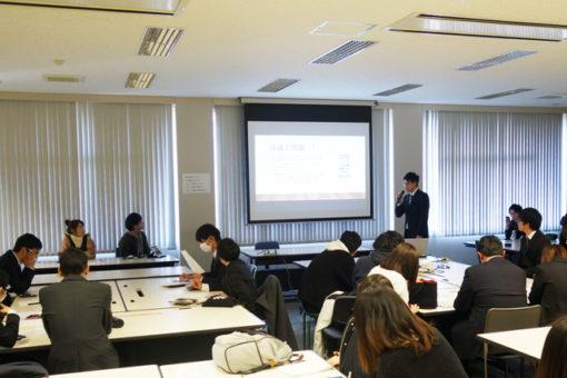 【心理学科】心理学課題実習発表会を実施!