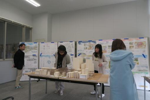 【建築学科】建築家による卒業設計作品批評会