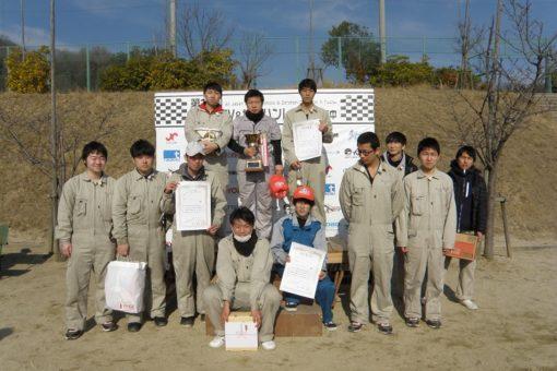 【機械システム工学科】全日本EV&ゼロハンカーレースin府中で総合優勝!