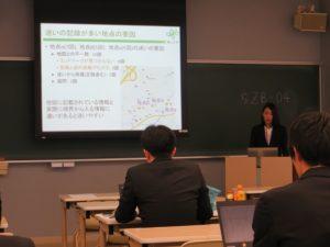 工学研究科2年の川野さん