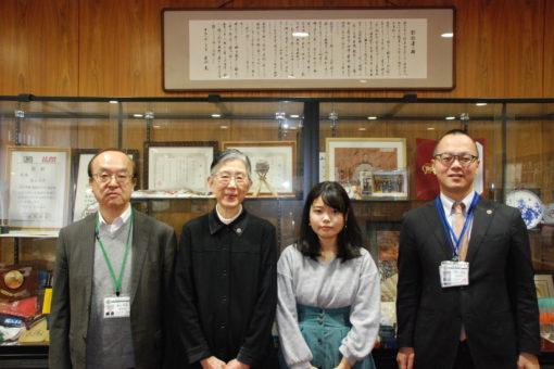 【国際交流】学長室で「トビタテ留学JAPAN留学相談会」の開催報告