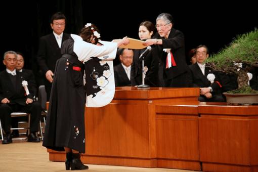 【キャンパス】平成30年度福山大学卒業式(平成31年3月20日)