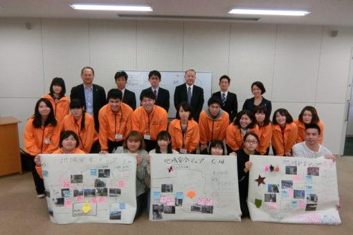 【心理学科】4月恒例の「地域安全マップふくやまセミナー」開催!