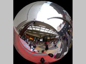 ふくやま大道芸360度画像