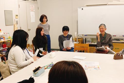 【心理学科】第1回教養ゼミで松田学長登場!ピア・サポートについて語る