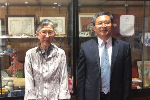【孔子学院】福山大学孔子学院に郭徳玉新副学院長が着任