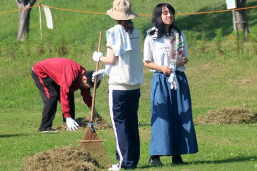 【生物工学科】本郷川の清掃ボランティアに参加しました!