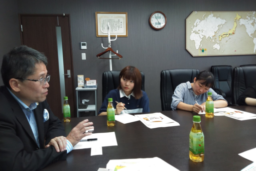 【国際経済学科】八天堂でグローバル人材研修!