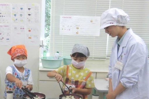 【生命栄養科学科】夏休み子どもお料理教室を開催!