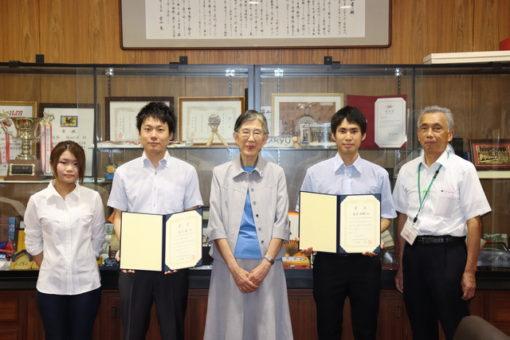 学生と教員が、日本中性子捕捉療法学会でダブル受賞!