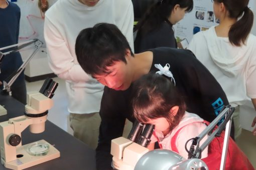 【生物工学科】三蔵祭開催中 17号館へGO