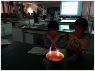 薬学部と東村小学校との連携理科実験教室!