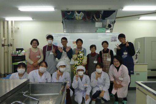 【生命栄養科学科】健康料理教室を開催!