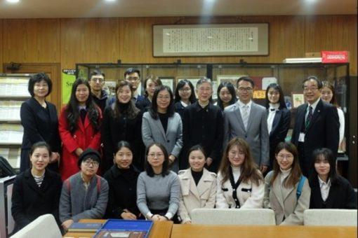 【国際交流】華南師範大学からの訪問団が来学!