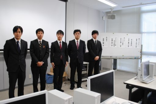 【スマートシステム学科】今年も就職体験発表会を開催!