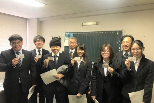 薬学部学生が、ヤング薬物乱用防止指導員に広島県知事より任命!