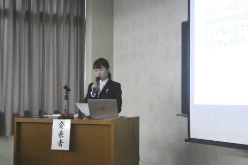 【生命栄養科学科】卒業研究発表会