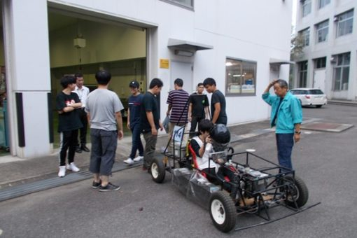 【機械システム工学科】全日本EV&ゼロハンカーレースへ出走間近!