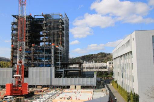【キャンパス】未来創造館建設中~フォトギャラリー~