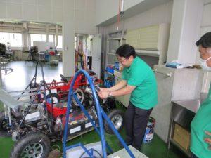 機械システム工学科 学生が製作したEVカーの紹介
